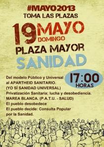ÁGORA SANIDAD_Plaza Mayor