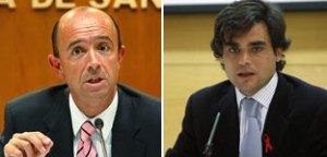 Exconsejeros de Sanidad de la Comunidad de Madrid Manuel Lamela y Juan José Güemes