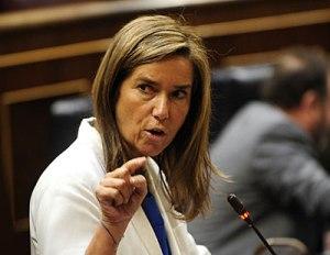 Ana Mato Ministra de Sanidad, Servicios Sociales e Igualdad