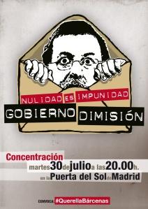 CONVOCA: #QuerellaBárcenas