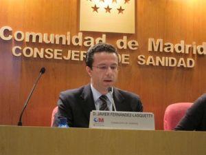 Consejero de Sanidad Javier Fernández-Lasquetty
