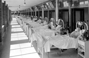 Hospital para tuberculosos en Louisville   (USA) en 1930.