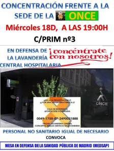 CARTEL_Concentración sede ONCE