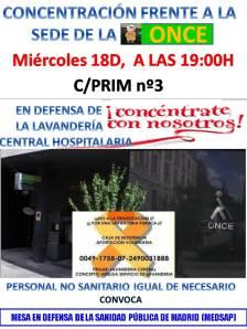 CARTEL_Concentración sede ONCE