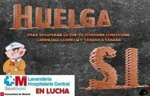 CARTEL_Huelga Lavandería Hospitalaria Central
