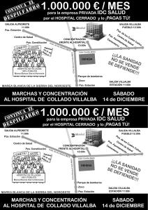 CARTEL_Marcha Hospital Villalba 14-12-2013