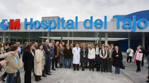 Hospital del Tajo (Aranjuez) el día de su inauguración.