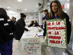 Trabajador@s del Hospital Ramón y Cajal en huelga indefinida
