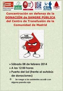 Cartel_Concentración Centro de Transfusiones_2014-02