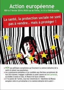 Manifiesto de la RED EUROPEA contra la privatización de la Sanidad