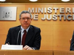 Alberto Ruiz Gallardón - Ministro de Justicia