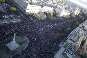 Marchas de la Dignidad 22M ayer en el centro de Madrid