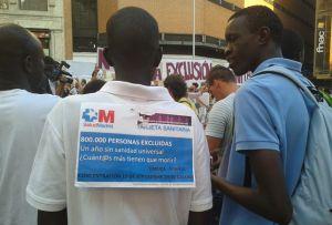 Concentración en Madrid contra el Real Decreto-Ley 16/2012