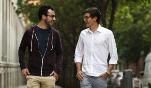 Juan Pablo Carrasco (derecha) y Álvaro Cerame, presidente y vicepresidente de la Coordinadora Estatal de Estudiantes de Medicina. Foto: Luis Sevillano
