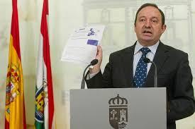 Pedro Sanz - Presidente del Gobierno de La Rioja Foto: El Mundo