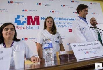 Equipo del Hospital Carlos III que ha tratado a Teresa Romero