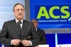 Florentino Pérez. Presidente de ACS.