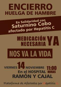 Cartel_Afectados Hepatitis C_Huelga Belén_2014-11-14