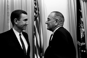Attorney General Clark & President Lyndon B. Johnson in 1967.