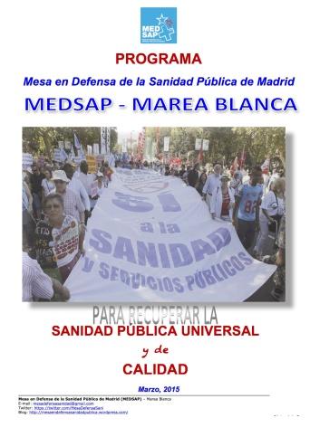 2015-04-09 -2015 PORTPROGR. SANID. MEDSAP-MAREA BLANCA -2