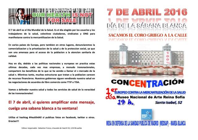 SENSIBILIZACIÓN EN MADRID