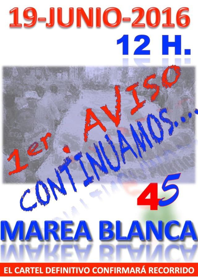 1ER AVISO MAREA 45