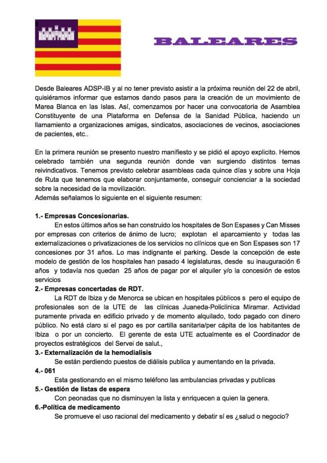 DOCUMENTO BALEARES IV ASAMBLEA MBE