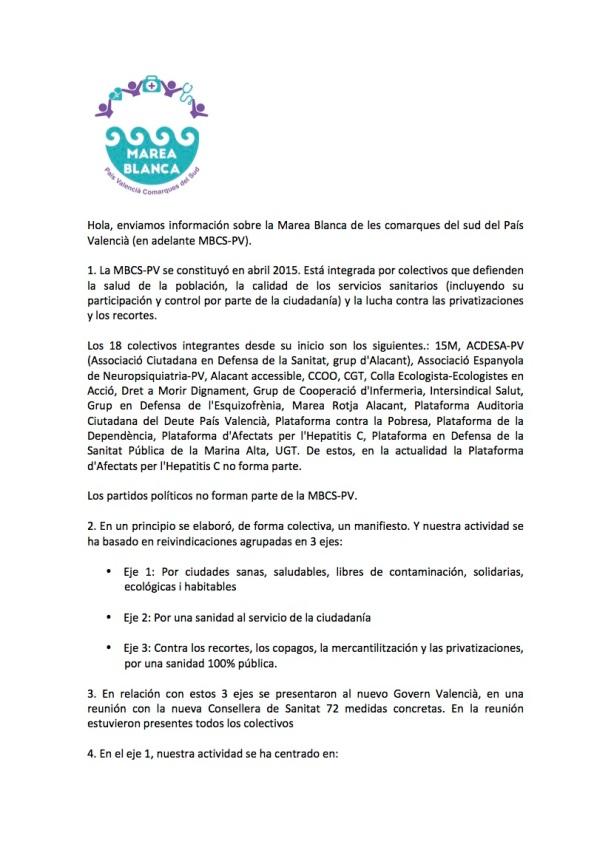 DOCUMENTO PAIS VALENCIA CS IVª ASAMBLEA MBE