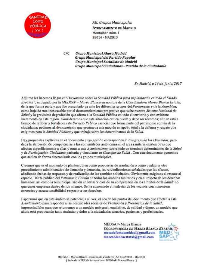 Carta ok 14 Junio 2017 a grupos Ayuntamiento