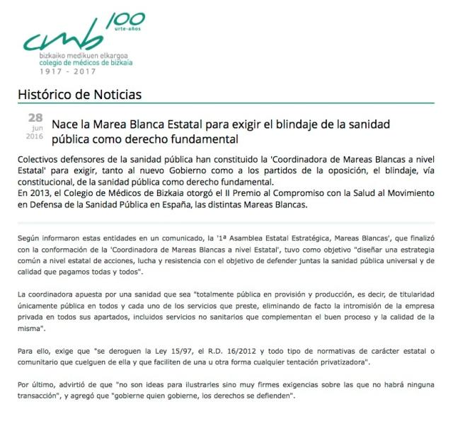 Nota Colegio Mèdicos de Bizkaia rec