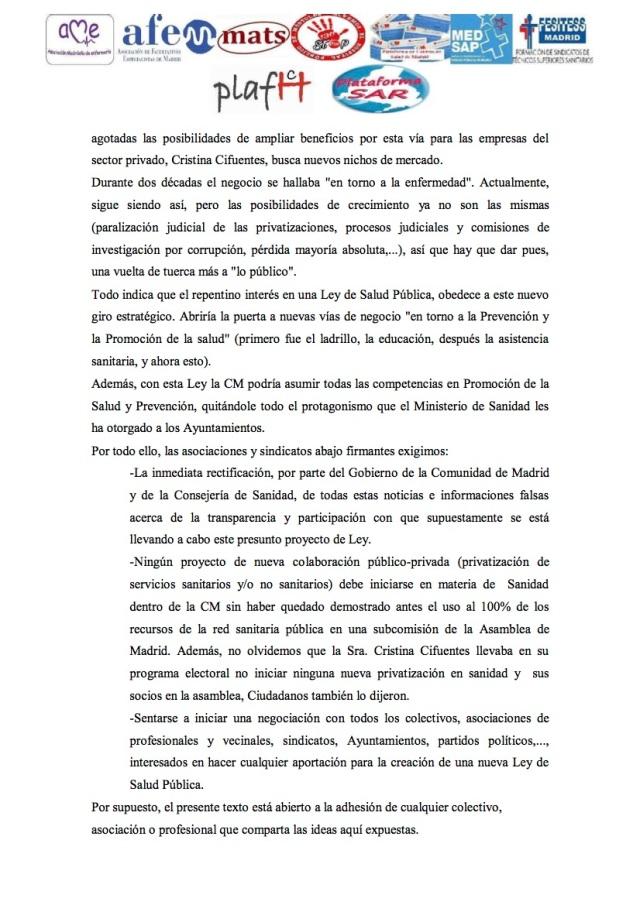 COMUNICADO2 NO NUEVA LEY DE SALUD (1)