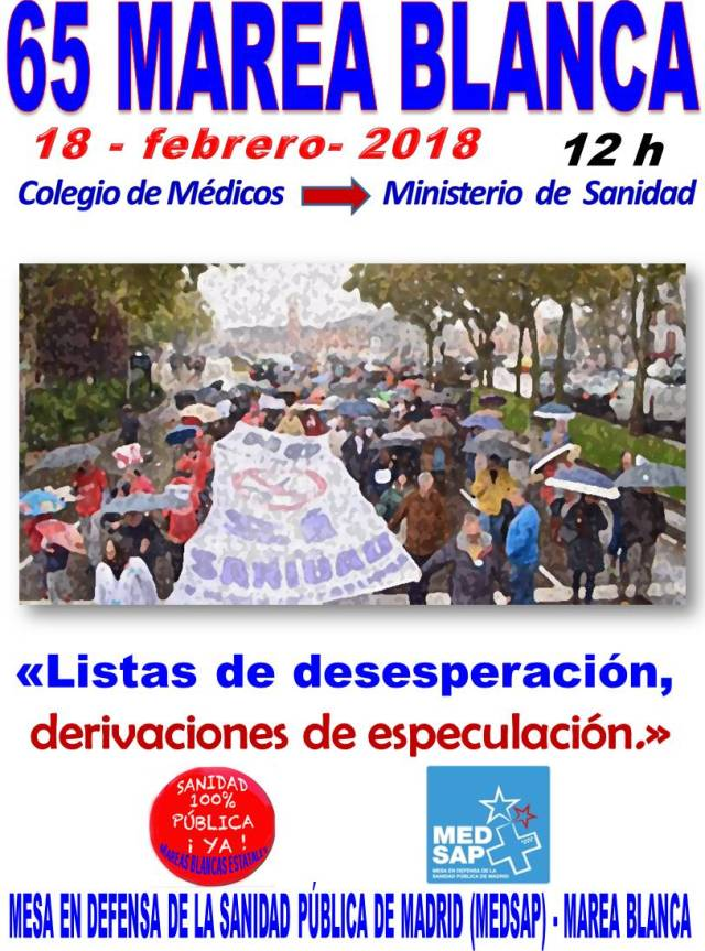 #MareaBlanca65 -