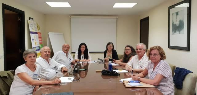 DELEGACIÓN COORDINADORA CON DIRECTORAS GRALES