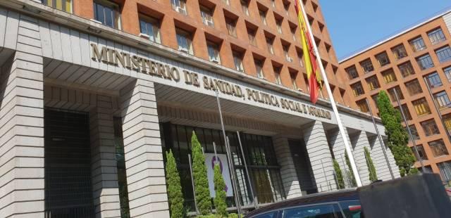 MINISTERIO DE SANIDAD PORTADA