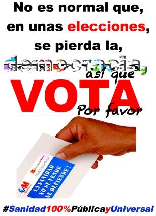 26 mayo, vota