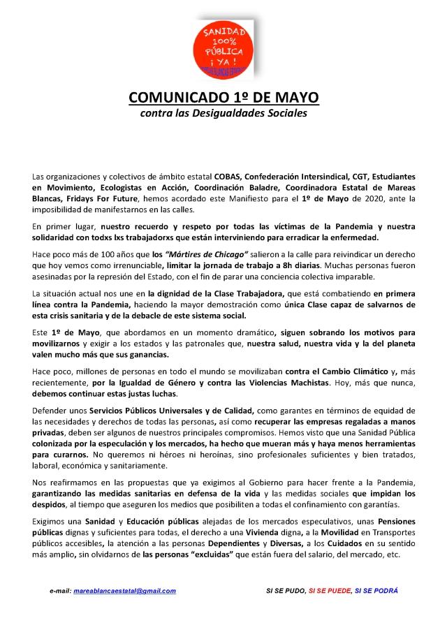 COMUNICADOp1 - 1 mayo 2020 contra desguldades sociales .doc