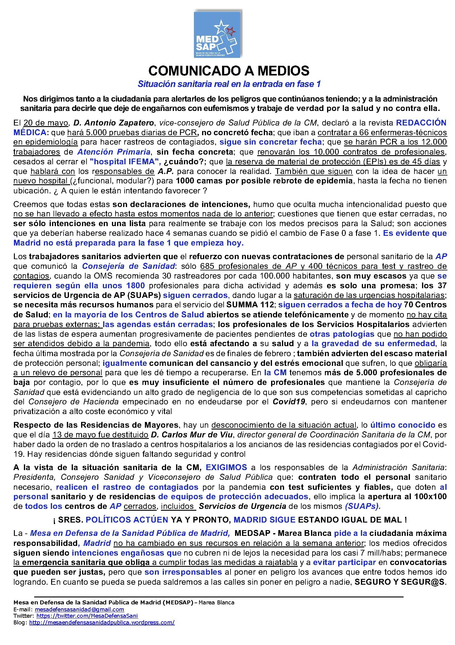 COMUNICADO A MEDIOS 2 ANTE FASE1