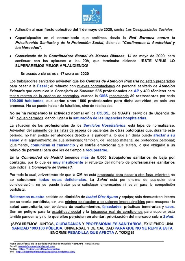 ULTIMO_MANIFIESTO p2 MAREA BLANCA ESPECIAL EN CONFINAMIENTO